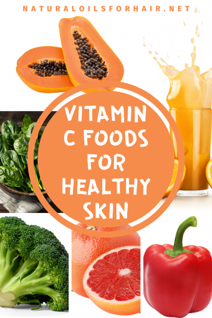 Vitamin C foods for healthy skin