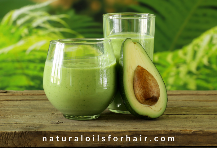 Avocado smoothies for wrinkle free skin