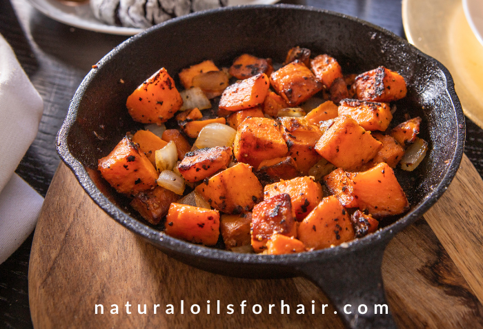 Sweet Potatoes for Skin Cell Renewal