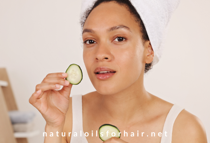 Beauty and hair care, natural oils for hair and beauty