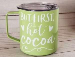 But First, Hot Cocoa Mug