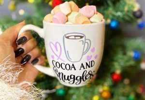 Cocoa and Snuggles Mug