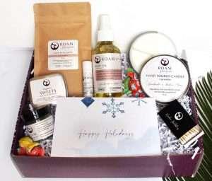 Self-care Holiday Gift Basket