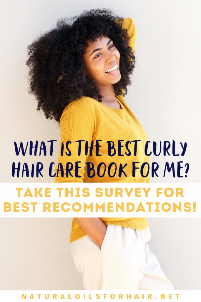 What is the best curly hair care book for me? Take this survey for best recommendations