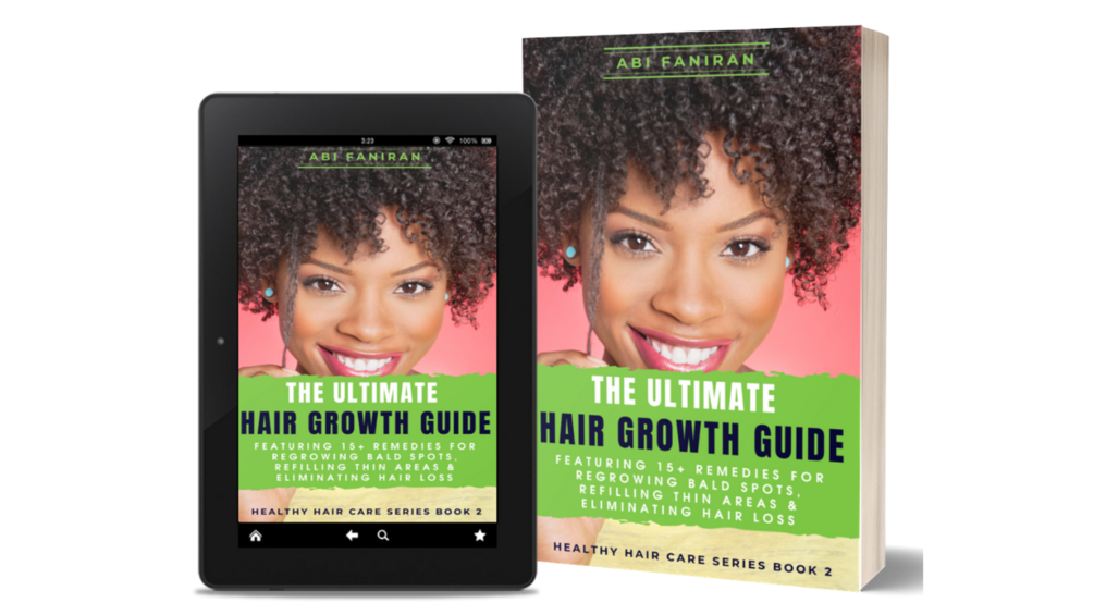 The Ultimate Hair Growth Guide: Recover from Hair Loss, Bald Spots & Thinning Hair