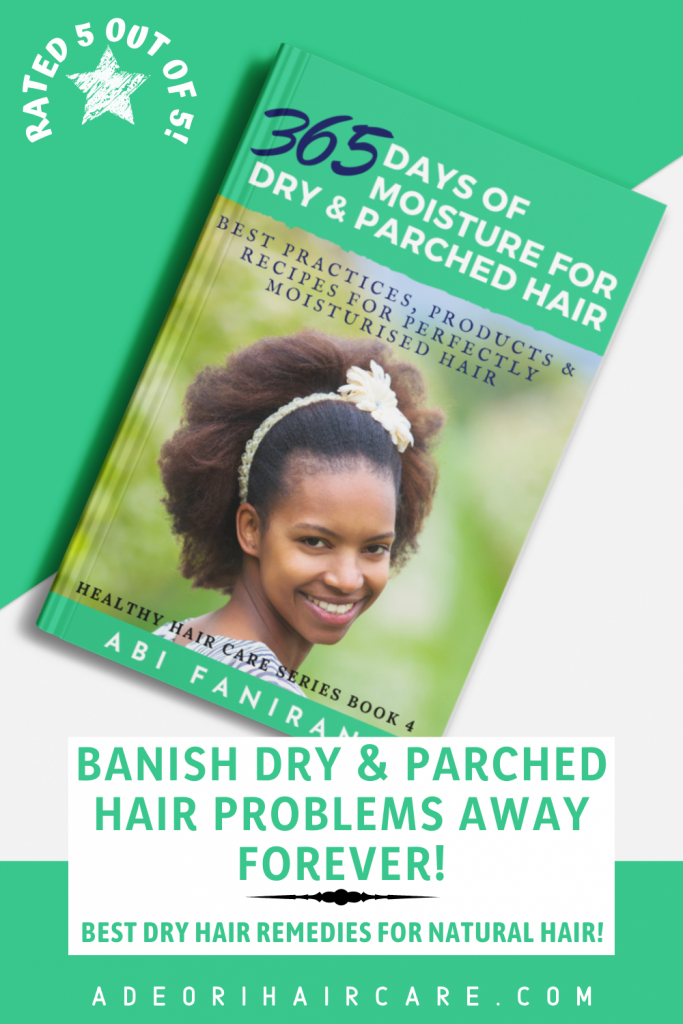 Banish dry and parched hair problems away forever. Best dry hair remedies for natural and transitioning hair