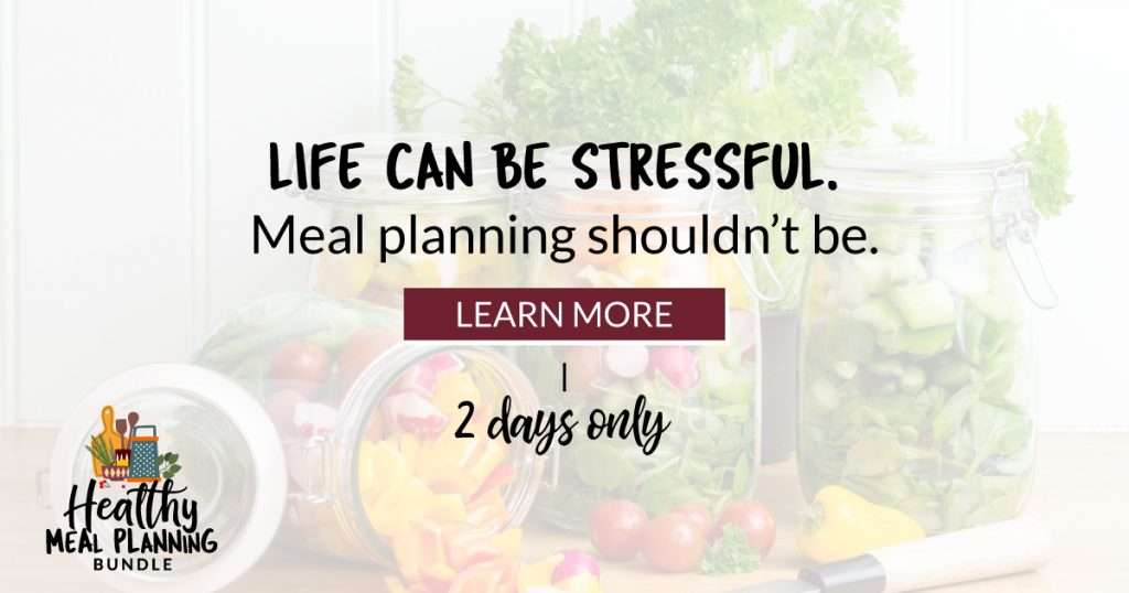 Healthy Meal Planning Bundle for 2 Days