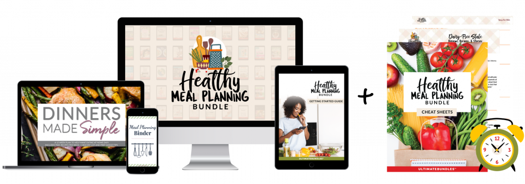 Healthy Meal Planning Full Bundle + Cheat Sheet