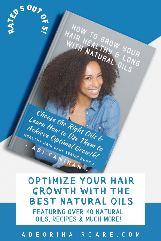 Learn how to optimize your hair growth with the best natural oils