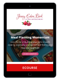Meal Planning Momentum