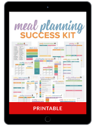 Meal Planning Success Kit