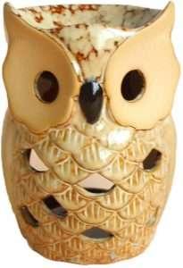 Ceramic Owl Essential Oil Burner