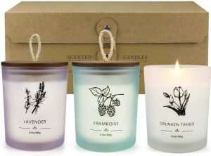 Scented Spa Candles