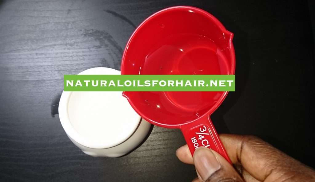 Adding distilled water to essential oil burner