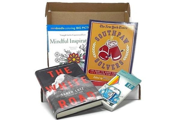 Coloring and Classics Self-Care Box