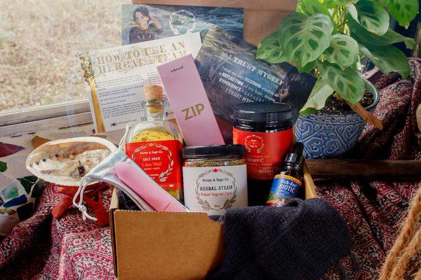 Honey & Sage Company Self-Care Box