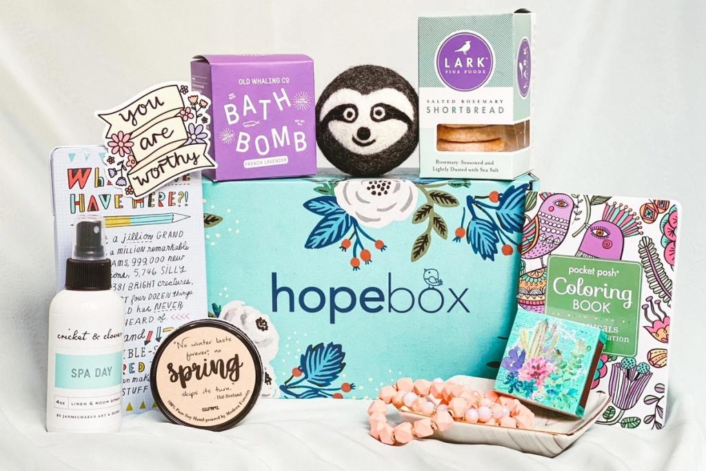 HopeBox Self Care Box