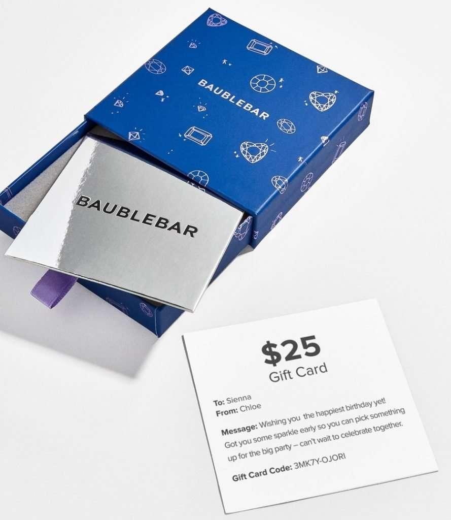 Baublebar Gift Card