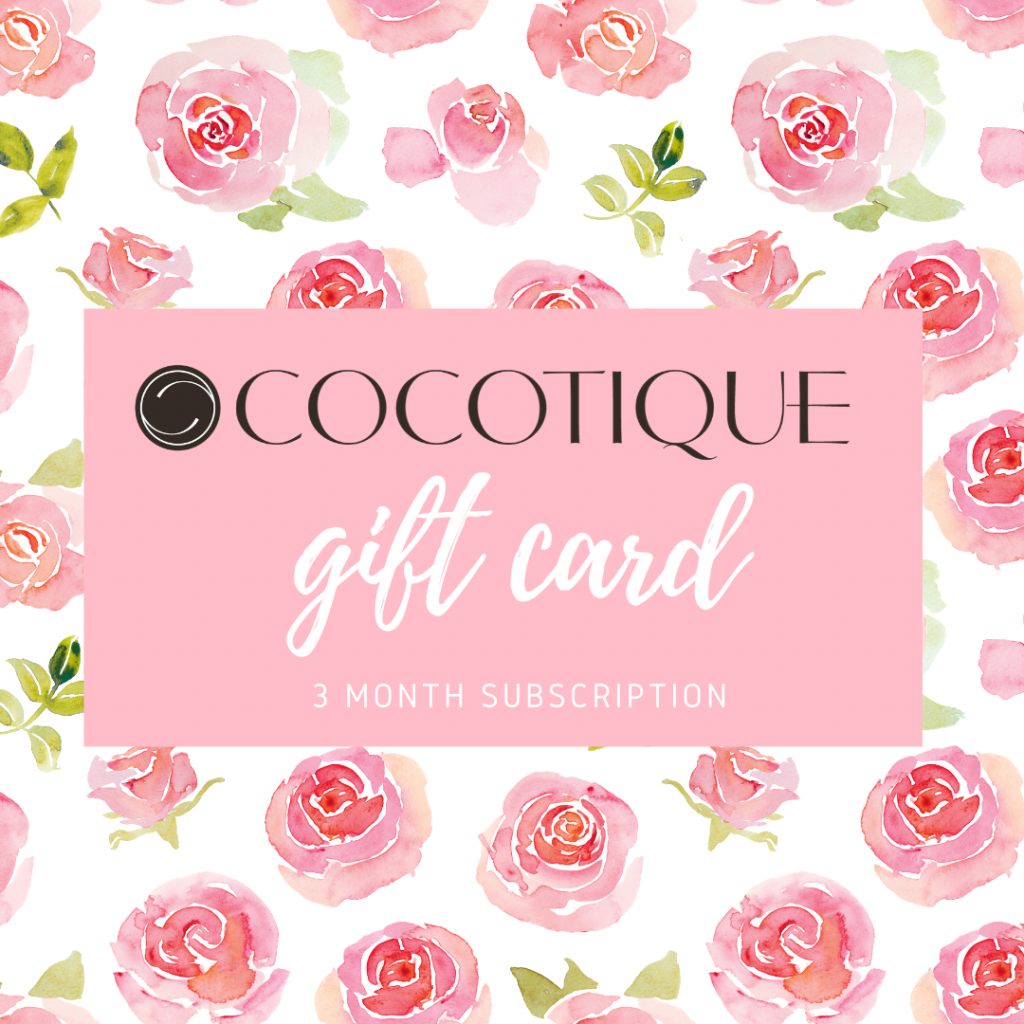 Cocotique Beauty Gift Card