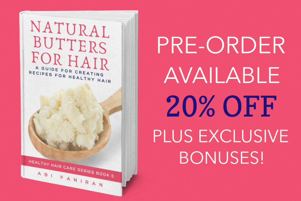 Natural Buttes for Hair Pre-Order 1