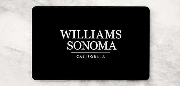 Williams Sonoma Gift Card