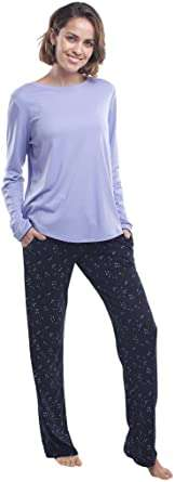 Long-Sleeve Soft Cotton Pajama Set