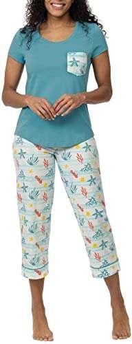 PajamaGram Capri Lounging Pajamas