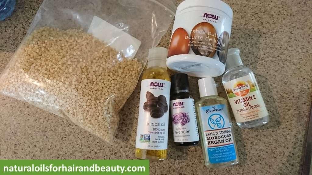 DIY Hair Butter Ingredients