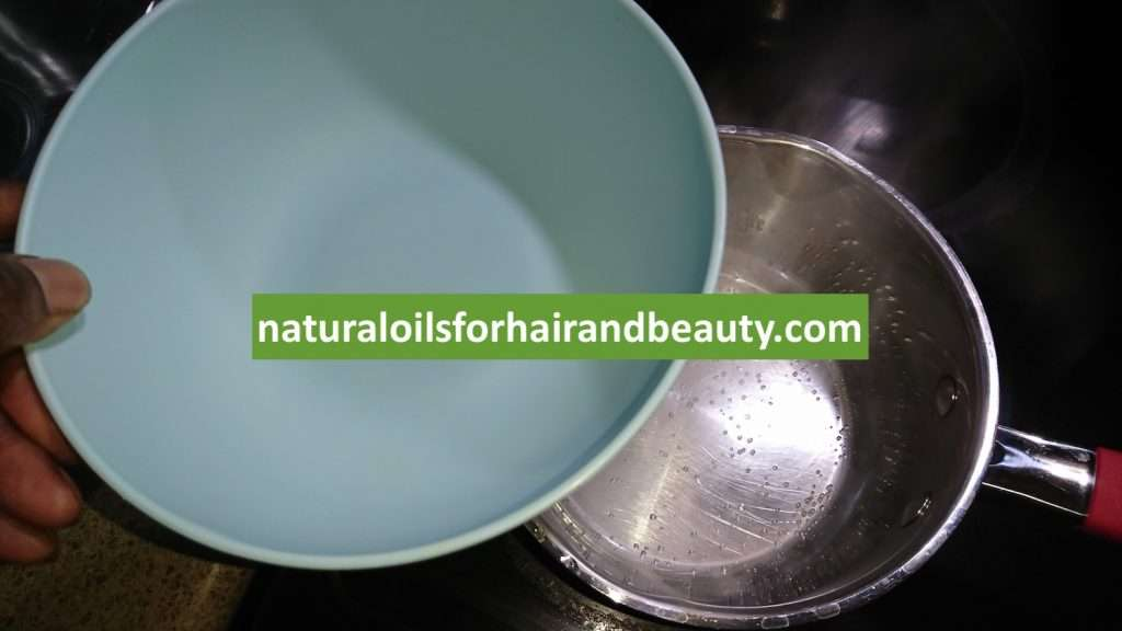 Step 1 - How to Make Hair Butter