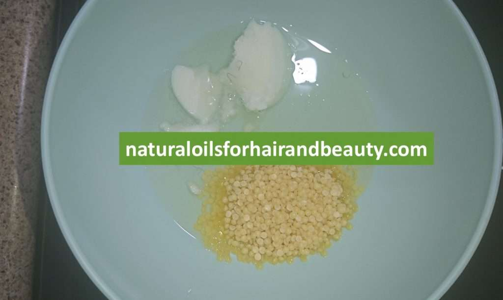 Step 2 - How to Make Hair Butter