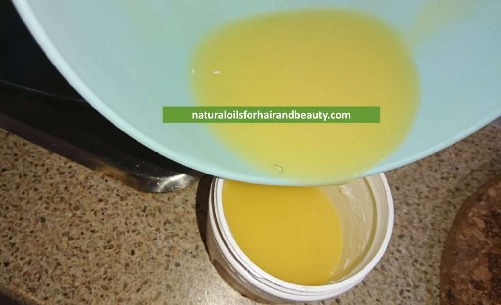 Step 5 - How to Make Hair Butter