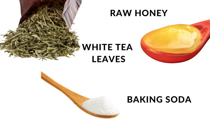 DIY Refreshing White Tea Face Mask