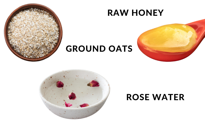 Oatmeal Homemade Face Mask for Itchy and Irritated Skin