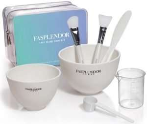 Silicone Face Mask Mixing Bowl Set